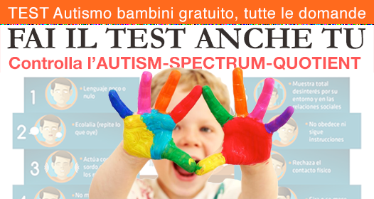 Test Autismo Online  screening test per d'ingresso autismo